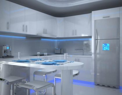 Modern Kitchen Designs and Appliances